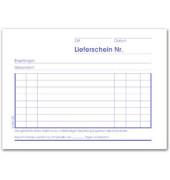 Lieferscheinbuch LI643SD A6 quer 3x40 Bl