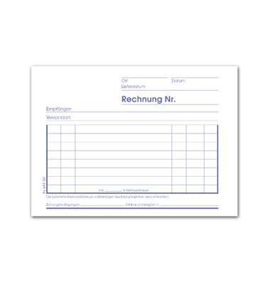 Rechnungsbuch Ursus RE643SD A6 quer 3x40 Bl