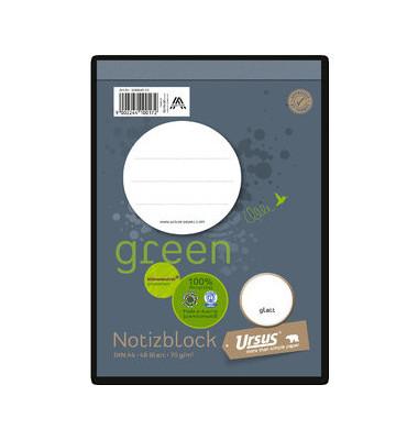 Block Deckblatt 70g glatt A6 48 Bl