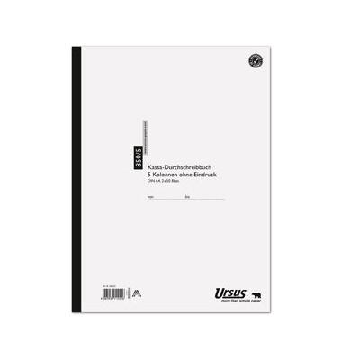 Kassabuch 850/5 70g 5Sp A4 2x50 Bl