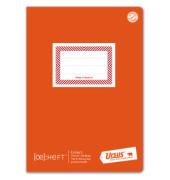 Schulheft Ö-Heft A5 liniert mit Rahmen weiß 60 Blatt