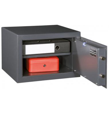 Möbeleinsatztresor M410 Sicherheitsschloss 30 x 42 x 38 cm graphitgrau
