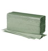 Papierhandtücher 4111101 Plus C-Falz 25 x 33 cm 1-lagig natur Krepp 3120 Tücher