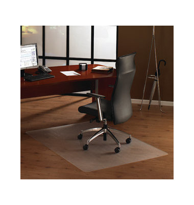 Bodenschutzmatte Cleartex unomat 89 x 119 cm Form O für Hartböden & Teppichböden PC
