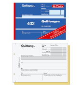402 Quittungsblock A6 2 x 40 Blatt selbstdurchschreibend 886622