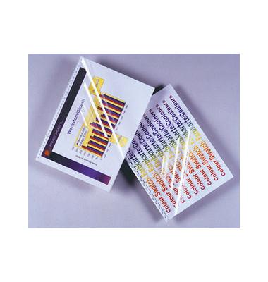 Umschlagfolie A4, 0,18mm klar PVC kristallklar Clear View