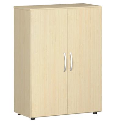 Aktenschrank Flex S-383102-AA, Holz, 3 OH, 80 x 110,4 x 42 cm, ahorn