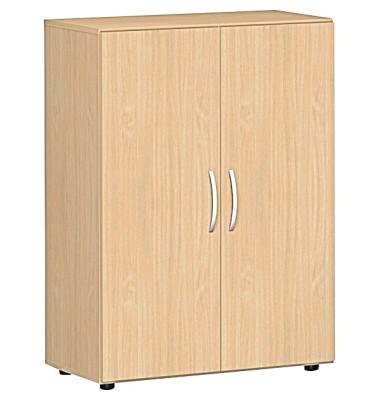 Aktenschrank Flex S-383102-BB, Holz, 3 OH, 80 x 110,4 x 42 cm, buche