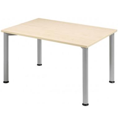 Schreibtisch S555102-AH/WA ahorn rechteckig 120x80 cm (BxT)