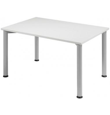 Schreibtisch S555102-LG/WA grau rechteckig 120x80 cm (BxT)