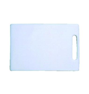 Schneidbrett Kunststoff weiß 34x23x1cm