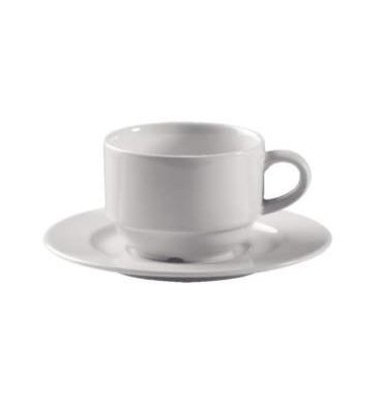 Kaffeetasse BARISTA stapelbar weiß 0,18 L