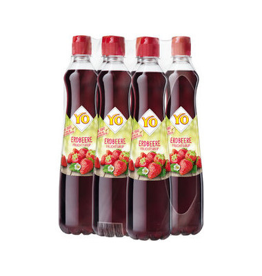 Sirup Erdbeer rot 6x 0,7L