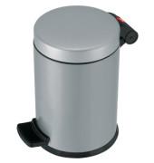 Tretabfalleimer ProfiLine Solid S 4 Liter silber Inneneimer Kunststoff