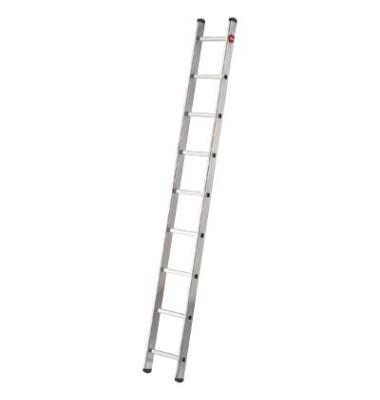 Alu Anlegeleiter ProfiStep uno 9 Stufen 7109-007