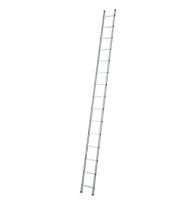 Alu Anlegeleiter ProfiStep uno 15 Stufen 7115-007