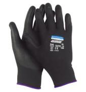 Polyurethanbesch. Handschuhe schwarz G40 Gr.9 12 Paar