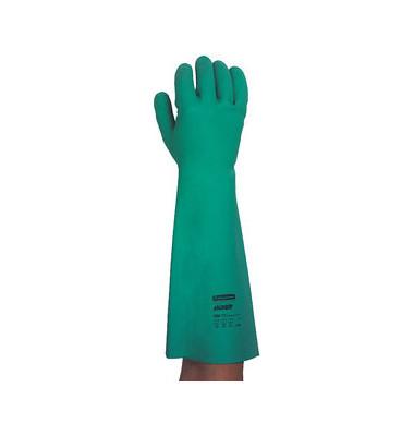 G80 Chemie Schutzhandschuhe m Stulpe L (9) 12 Paar