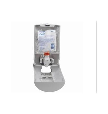 Toilettensitzreiniger Spender weiß 105x97x220mm Kunstst.