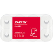 Toilettenpapier Classic Toilet 250 104773 2-lagig 64 Rollen