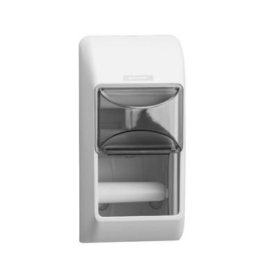 Toilettenpapierspender 2Rollen weiss