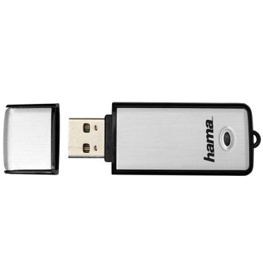 USB-Stick Fancy USB 2.0 silber/schwarz 32 GB