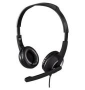 PC Headset HS-300 Stereo, gepolsterte Ohrmuscheln, ultraleichtes Gewicht,