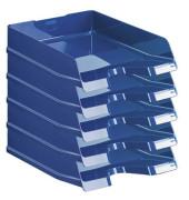Briefablage 10275 Viva A4 / C4 blau-hochglänzend stapelbar