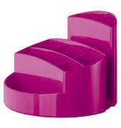 Schreibtisch-Köcher Rondo pink