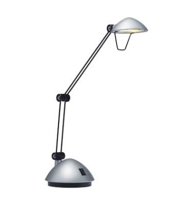 Schreibtischlampe Space mit Fuß silber