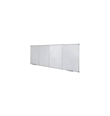Whiteboard MAULpro Erweiterungsmodul 90 x 120cm kunststoffbeschichtet Aluminiumrahmen