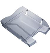 Briefablage H23635 Greenlogic A4 / C4 grau-transparent stapelbar