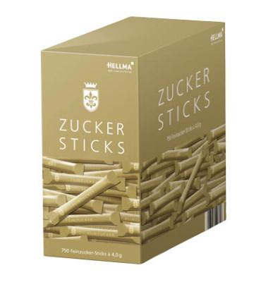 Zuckersticks Goldlinie 750x4,5g Feinzucker