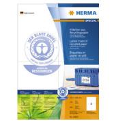 Etiketten 10829 105 x 148 mm weiß 400 Stück Recycling