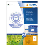 Etiketten 10833 210 x 297 mm weiß 100 Stück Recycling