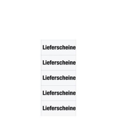 Inhaltsschilder 1743 Lieferscheine weiß 60x26mm selbstklebend 100 Stück