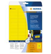 Etik Folie A4 45,7x21,2 gelb gelb 45,7x21,2mm 1200 St