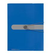 Sammelbox PP A4, 40mm, blau opak