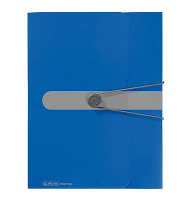 Sammelmappe easy orga 11206125, A4 Kunststoff, für ca. 400 Blatt, blau