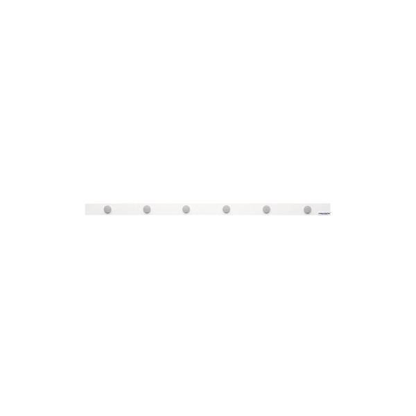 weiß magnetoplan 16271M Magnetleiste mit 6 Magneten 100x5cm