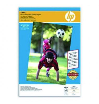 Inkjet-Fotopapier A3 Q8697A Advanced hochglänzend 250g 20 Blatt
