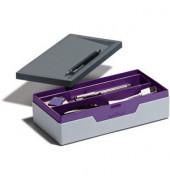 Ablagebox SMART OFFICE Jobcase lila