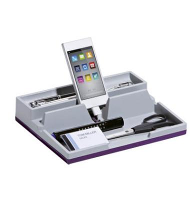 Ablageschale S.O. Desk Organiz lila