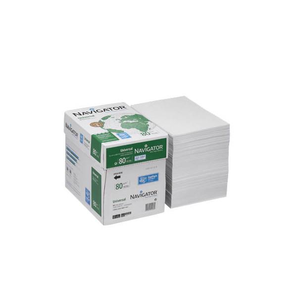 navigator universal a4 80g kopierpapier wei 2500 blatt 1 karton. Black Bedroom Furniture Sets. Home Design Ideas