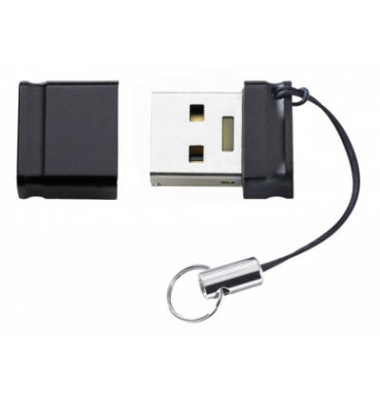 USB-Stick Slim Line USB 3.0 schwarz 64 GB