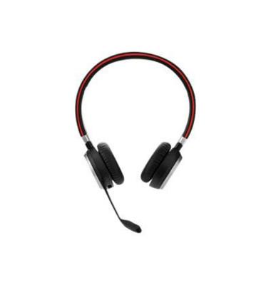 Headset Evolve 65 UC Duo NFC schwarz Bluetooth USB