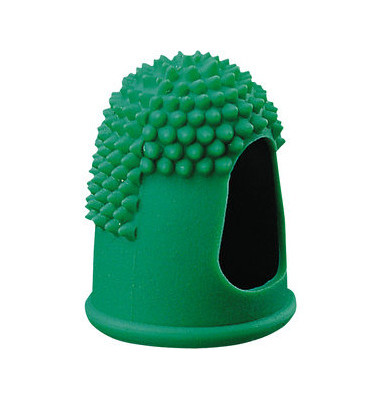 Blattwender Größe 3 grün Ø 1,7cm mit Gumminoppen