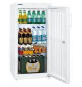 Flaschen-Kühlschrank 240L 230V weiß 600x610x1250 140W