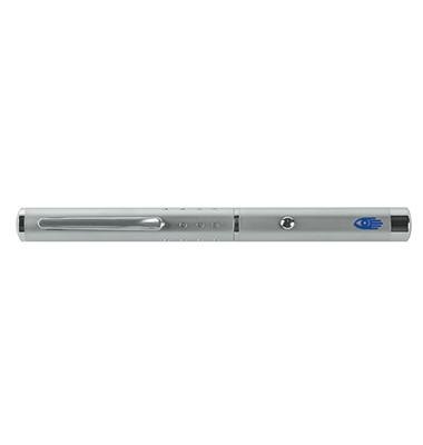 Laserpointer LX3 grüner Strahl silber Reichw.:200m L:15cm