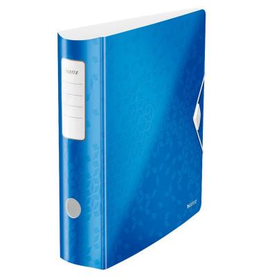 Leitz WOW 11060036 blau Ordner A4 82mm breit